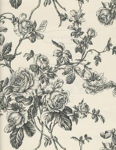 black and cream roses wallpaper
