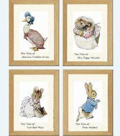 Peter Rabbit Prints - (£6.99)