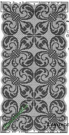 Cross Stitch Borders, Cross Stitch Flowers, Cross Stitch Charts, Cross Stitch Designs, Cross Stitch Embroidery, Cross Stitch Patterns, Hand Embroidery Patterns Flowers, Palestinian Embroidery, Fillet Crochet