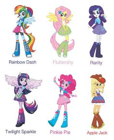 MY LITTLE PONY Equestria Girls Party Prop por HelloSunStudio