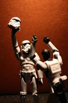 Tiny Stormtroopers