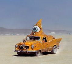 Burning Man Festival - Black Rock City Department of Mutant Vehicles