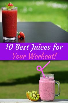 10 Best Juices for Your Workout via @DIYActiveHQ