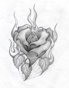 Wonderful Cost-Free burning rose drawing Strategies Within this lesson, we're going to examine the best way to draw in any increased by with pastels. We're making use Rose Drawing Tattoo, Tattoo Design Drawings, Pencil Art Drawings, Art Drawings Sketches, Tattoo Designs, Heart Rose Drawing, Heart Pencil Drawing, Rose Heart Tattoo, Heart Tattoos