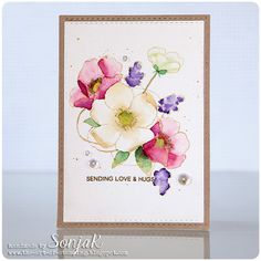 """Handgemachte Karte 