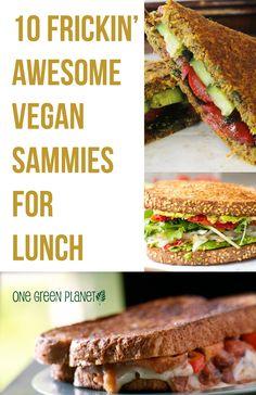 http://onegr.pl/ZijTFS #vegan #vegetarian #sandwich #lunch #recipes