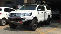 Rhino 4×4 | Toyota Hilux 2016 Front Evolution 3D Bumper