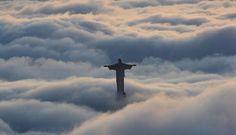 Cristo nas nuvens!