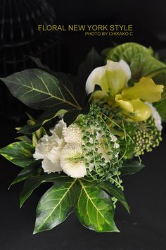 Fresh Flower Arrangement #49 by FLORAL NEW YORK, via Flickr