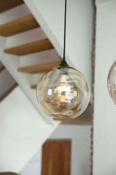 """This lovely light bulb is from our feature """"Rural Welcome"""""""