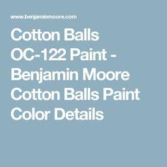 Purple gray benjamin moore and the purple on pinterest for Benjamin moore cotton balls