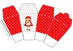 Caixa China in Box Chapeuzinho Vermelho