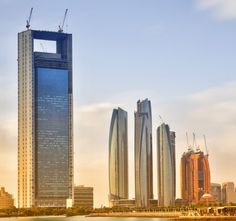 The 10 Tallest New Buildings From Around The World ADNOC Headquarters in Abu Dhabi, United Arab Emirates -- 1,122 feet (342 meters)