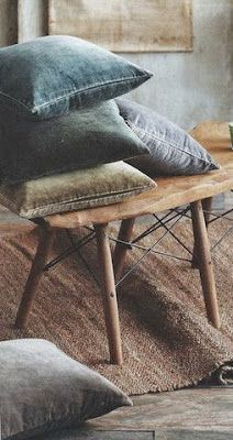 Méchant Studio Blog: washed velvet love