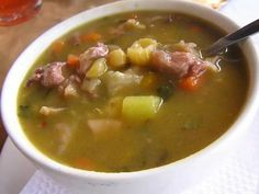 Cheeseburger Chowder, Recipes, Food, Peru, Beverages, Google, Gastronomia, Veg Soup, Cooking Recipes