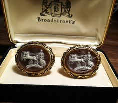 ANTIQUE CUFFLINKS - So interesting!  People will notice for sure!