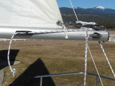 As I mentioned at the start of the Boom vang solution post, my mainsail is a bit stretched out. The boom vang in that post was the first step at getting control over all three sides of the sail—the…