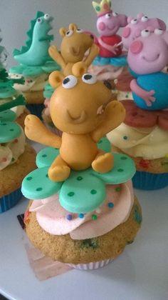 Cupcake Ted - Peppa Pig