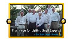 So, who is SnellExperts.com?  Find out now and find out how you might be able to be a part of our family of experts!