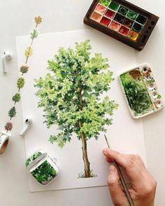 "Все грани акварели 🎨 on Instagram: ""🎨 Watercolorist: @dang_go ⠀ #waterblog #акварель #aquarelle #drawing #art #artist #artwork #painting #illustration #watercolor #aquarela"""