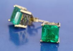 i love Emeralds..i have a pair like this with matching ring and necklace..given to me by my one true love my soul mate.....