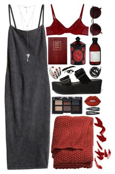 roxanne by gemmonkey on Polyvore featuring H&M, Eres, ASOS, BCBGeneration, Ray-Ban, Forever 21, NARS Cosmetics, Lime Crime, Davines and Sloane Stationery
