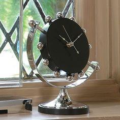 Axis Clock #interiorhomescapes #globalviews #clock #time #accessory #decor #home #interior #luxury #elegant #black