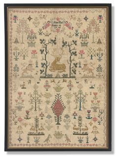 An English needlework sampler by Ann Nur<br>dated 1798 | Lot | Sotheby's