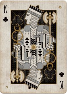 HERETIC playing card by Lorenzo Gaggiotti of Designkiller.  Due out on 2014.