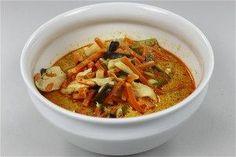 Kyllinge - karry - suppe opskrift fra Alletiders Kogebog blandt over 38.000 forskellige opskrifter på