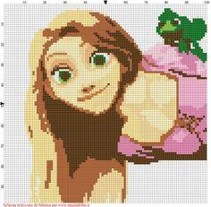 Schema Punto croce Rapunzel.jpg