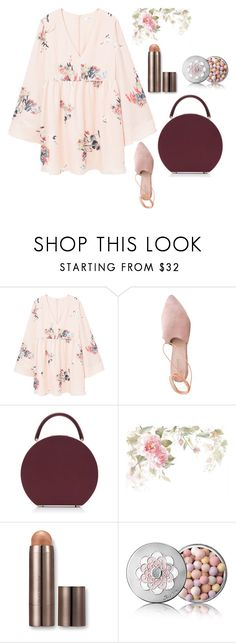 """Untitled #32"" by nandawelly on Polyvore featuring MANGO, Summit, BUwood, Laura Mercier and Guerlain"