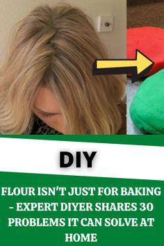 #Flour Isn't Just For #Baking - #Expert #DIYer #Shares #30 #Problems It Can #Solve At #Home Diy Furniture Projects, Diy Pallet Projects, Cool Diy Projects, Craft Projects, Diy Crafts For Girls, Diy Crafts For Home Decor, Diy Arts And Crafts, Herb Garden Pallet, Vertical Garden Diy