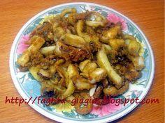 Σουπιές τηγανιτές Greek Appetizers, Cuttlefish, Greek Recipes, Fries, Chicken, Meat, Food, Essen, Greek Food Recipes
