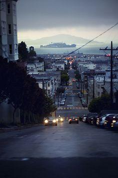 looking at Alcatraz