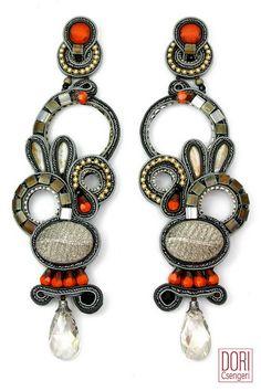 Winona show stopping earrings by Dori Csengeri  #doricsengeri #showstoppingearrings #shoulderdusterearrings #statementearrings #couturejewelry