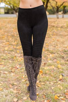 Libra Moto Leggings (Black)