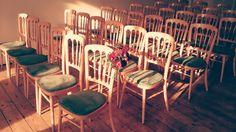 Wedding ceremony in Cambridge Cottage at Kew Gardens