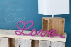 Mot Love réalisé par c-comme-cora.fr
