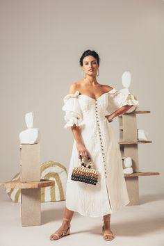 Cora Clutch - Multi – CULT GAIA Modest Dresses, Modest Outfits, Classy Outfits, Modest Fashion, Modest Clothing, Hijab Fashion, Elegant Outfit, Classy Dress, Gauze Dress