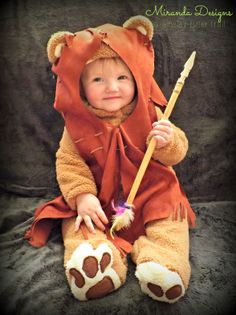 It's Hallowe'en, Baby! {Ewok costume}