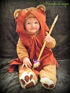 It's Hallowe'en, Baby! {Ewok costume}