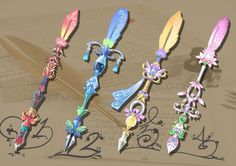 feather pen weapons #3