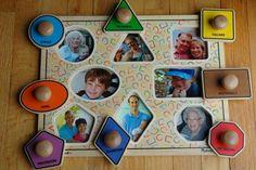 Puzzel met foto's