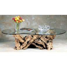 Old Vine Dancing Table Made To Look Like The Old Grapevines Are - Grapevine coffee table