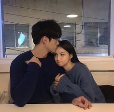Korean Fashion On The Streets Of Paris Cute Relationship Goals, Couple Relationship, Cute Relationships, Relationship Pictures, Relationship Problems, Relationship Memes, Korean Girl Ulzzang, Couple Ulzzang, Couple Goals