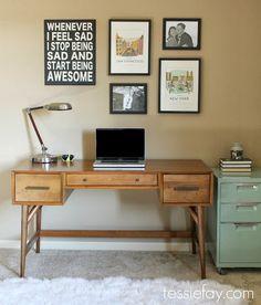 Schöner Schreibtisch by West Elm