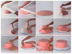 1 million+ Stunning Free Images to Use Anywhere Fondant Tips, Fondant Rose, Fondant Tutorial, Fondant Molds, Fondant Figures, Fondant Cakes, Cupcake Cakes, Making Fondant, Cake Decorating Designs
