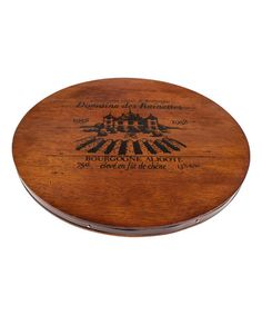 Another great find on #zulily! 'Bourgogne Aligote' Wine Cask Cheeseboard #zulilyfinds