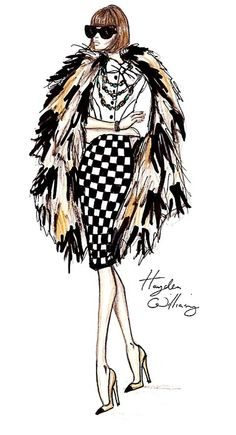 The September Issue Vogue by Hayden Williams A.W.-But of course!